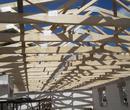 Verlegung von Holzbindern